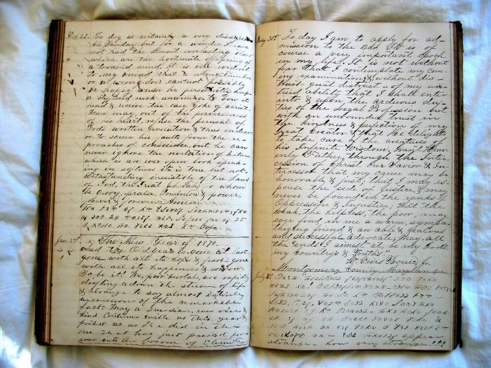 Diary by Barnaby Dorfman (CC BY 2.0, https://www.flickr.com/photos/bdorfman/15846725)