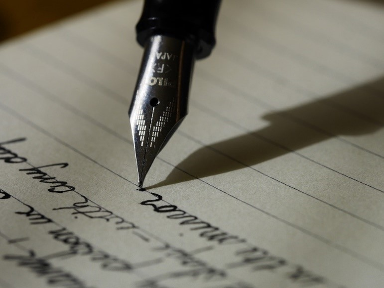 Writing, by Unsplash, cc0